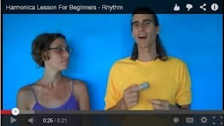 Harmonica Lesson For Beginners - Rhythm