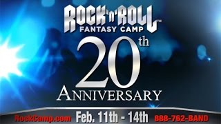 Rock N Roll Fantasy Camp with TONY IOMMI, WARREN HAYNES, ZAKK WYLDE & STEVE VAI