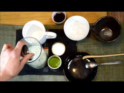 Matcha au lait d'amandes Tamayura
