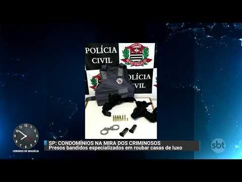 Polícia fecha cerco contra assaltantes de condomínios de luxo | Primeiro Impacto (17/11/17)