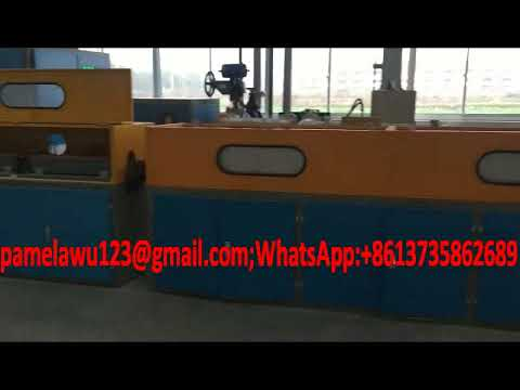 Oil tempering spring wire production line for making auto suspension spring
