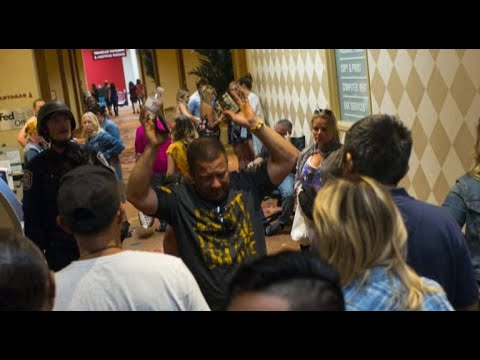 """Las Vegas undersheriff says """"at least 10 rifles"""" in gunman's hotel room"""