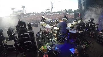"Trivium - ""Kirisute Gomen"" LIVE @ Wacken 2017 (Alex Bent Drum Cam)"