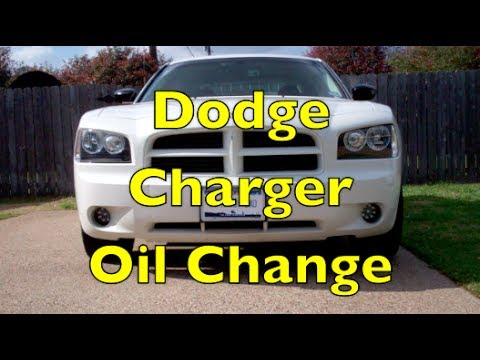 Dodge Charger Oil Change