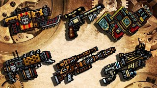 Steampunk Weapons - Pixel Gun 3D