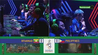 SEA GAMES Esports Team Philippines Vs Team Myanmar ( DOTA 2 BO2 Game 2 )