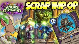 Learning Scrap Imp is INSANE in Zoo Warlock w/ Gallon | Firebat Hearthstone