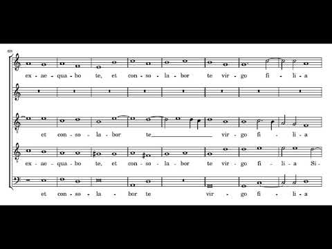 Palestrina: Lamentations of Jeremiah - Book 3 - Good Friday, 2nd lesson