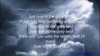 hee haw gospel quartet just over in the glory land