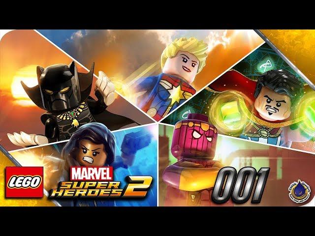 Let's Play LEGO MARVEL SUPERHEROES 2 💥 [001] Neue Helden braucht das Land