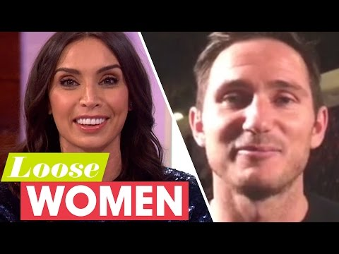 Frank Lampard's Anniversary Message To Christine! | Loose Women