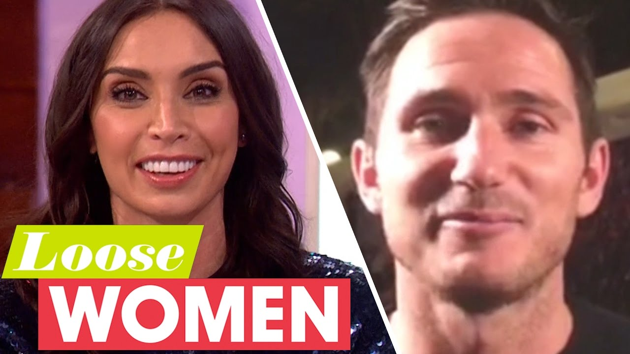 Frank Lampard S Anniversary Message To Christine Loose Women Youtube