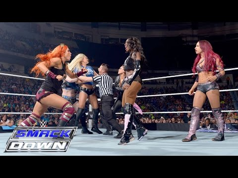 Paige vs. Sasha Banks: SmackDown, September 10, 2015
