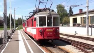 Gmunden/Attersee/Linz trams