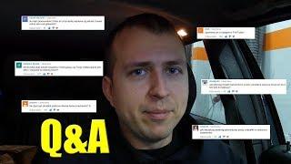 Q&A SPESZJAL NA STO KILO SUBA.