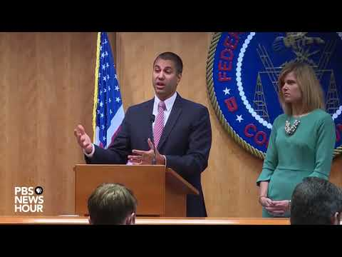 WATCH: FCC chairman holds news conference after net neutrality vote