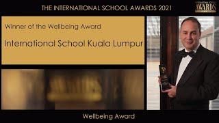 ISKL Wins Wellbeing Initiative Award at ISC Awards 2021 | The International School of Kuala Lumpur