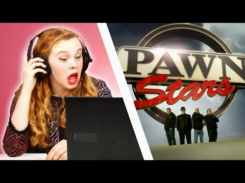 Irish People Watch Pawn Stars For The First Time