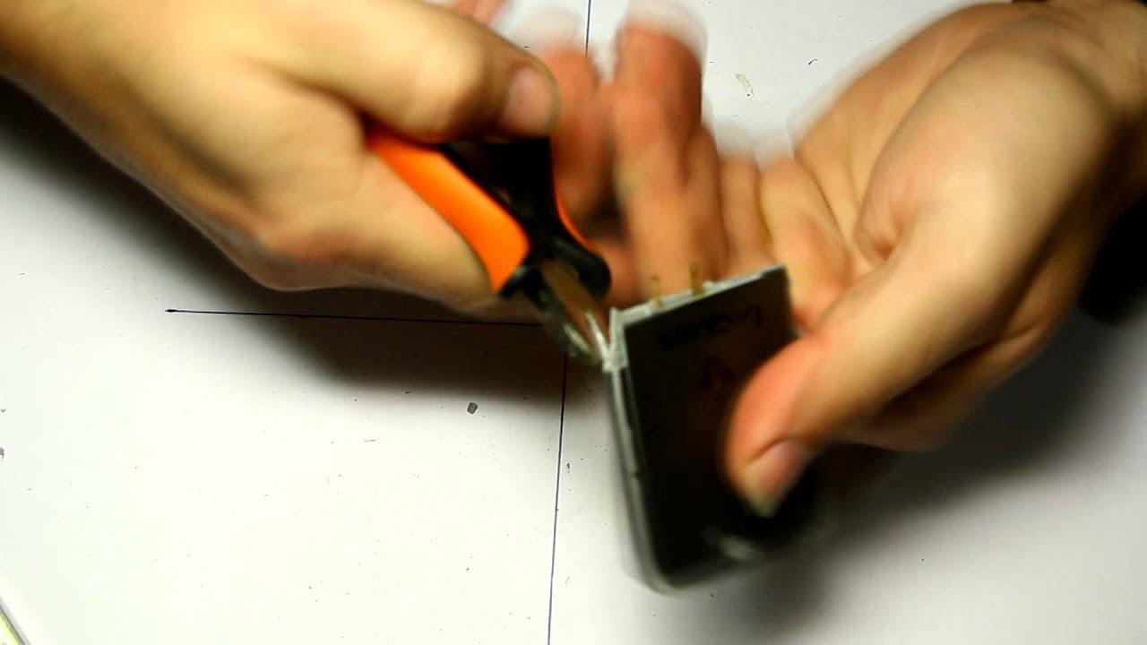 Reparar llave tarjeta inhalambrica renault laguna megane for Como reparar la llave dela regadera