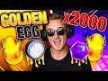 WORLD RECORD! | Opening 2,100 Golden Eggs In Rocket League + Trade ups! - BIGGEST CRATE OPENING