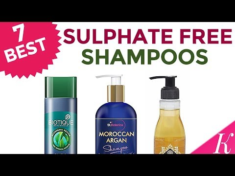 7 Best Sulphate, Paraben Free Shampoos in India with Price