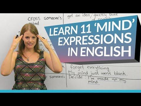 """Học tiếng Anh: 11 cách dùng """"mind"""""""
