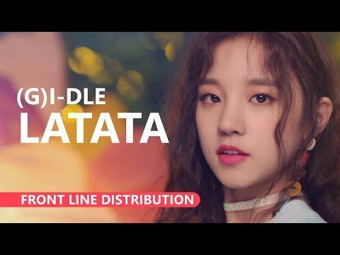 (G)I-DLE (여자)아이들 - LATATA [Front Line Distribution]