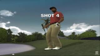 Tiger Woods PGA Tour 09 PS2 Gameplay HD