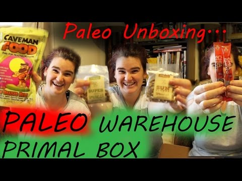 UNBOXING:|| Paleo Warehouse Primal Box