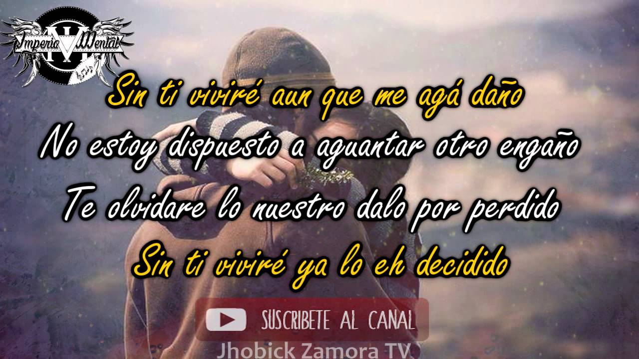 Sin Ti ♥ Rap Romantico ♥ Maniako FT Jhobick Zamora Video Con Letra ○Cancion para Dedicar○