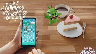 Angry Birds Match | Pig Vs Cake - Summer Special