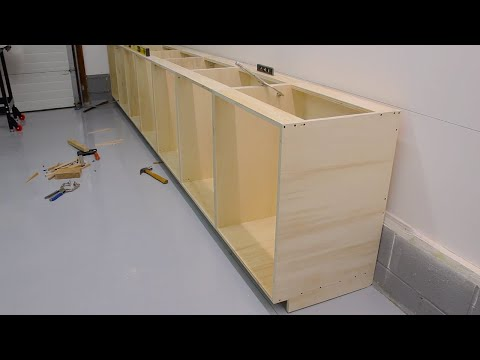 How to build a cabinet box