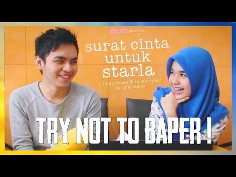 TRY NOT TO BAPER CHALLENGE! - Surat Cinta Untuk Starla with Nada Syifaa😁
