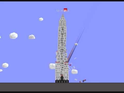 Chrysler Building vs. Meteors