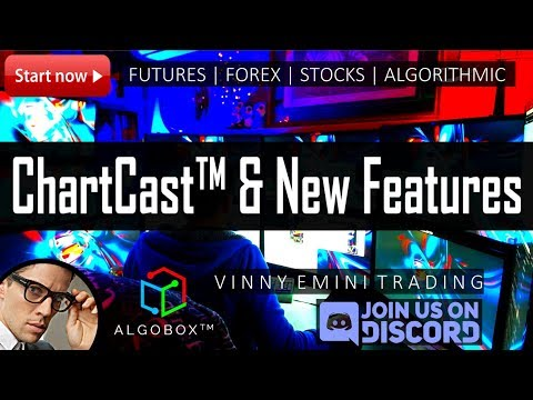 NEW*   ChartCast™   AlgoBox™   New Features Reveal & Release with Vinny Emini™