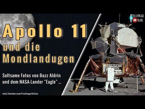 Apollo 11 und die Mondlandung: Seltsame Fotos der Landefähre Eagle vom Mond