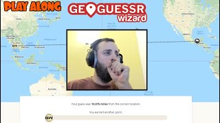 Attempting to beat my fans at Geoguessr but I'm very ill.