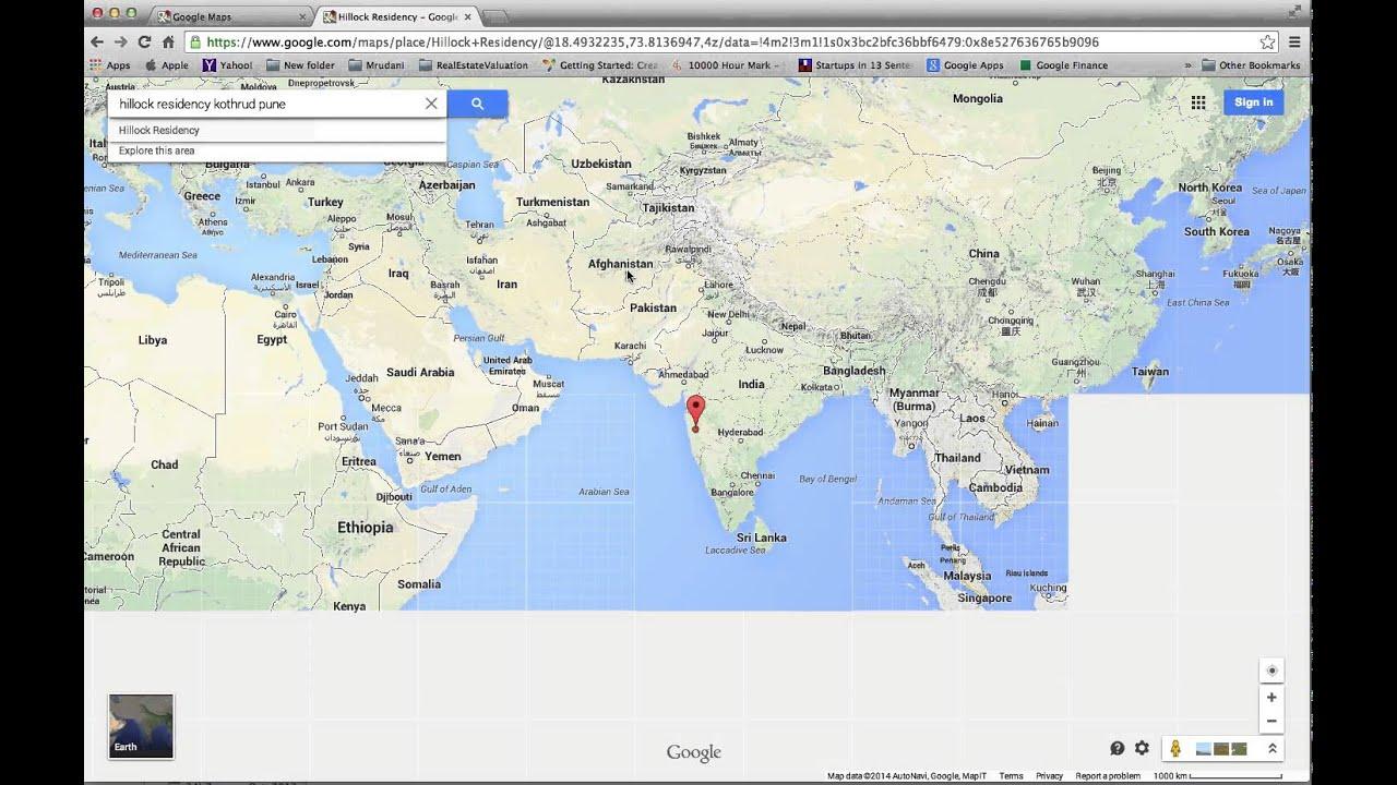 Using Google Maps Computer Tips In Marathi YouTube - World map image in marathi