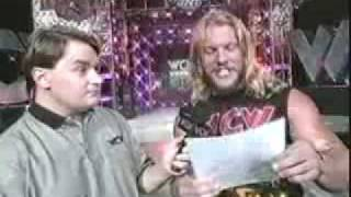 Chris Jericho gets a letter from Ted Turner