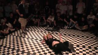 WOO(ARIYA) vs DOUBLE U(BDM) BEST12 / BATTLE FIELD 15/06/21 BBOY DANCE BATTLE