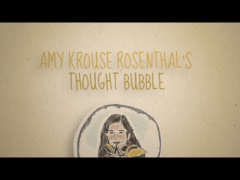 Amy Krouse Rosenthal's Thought Bubble: Kindness