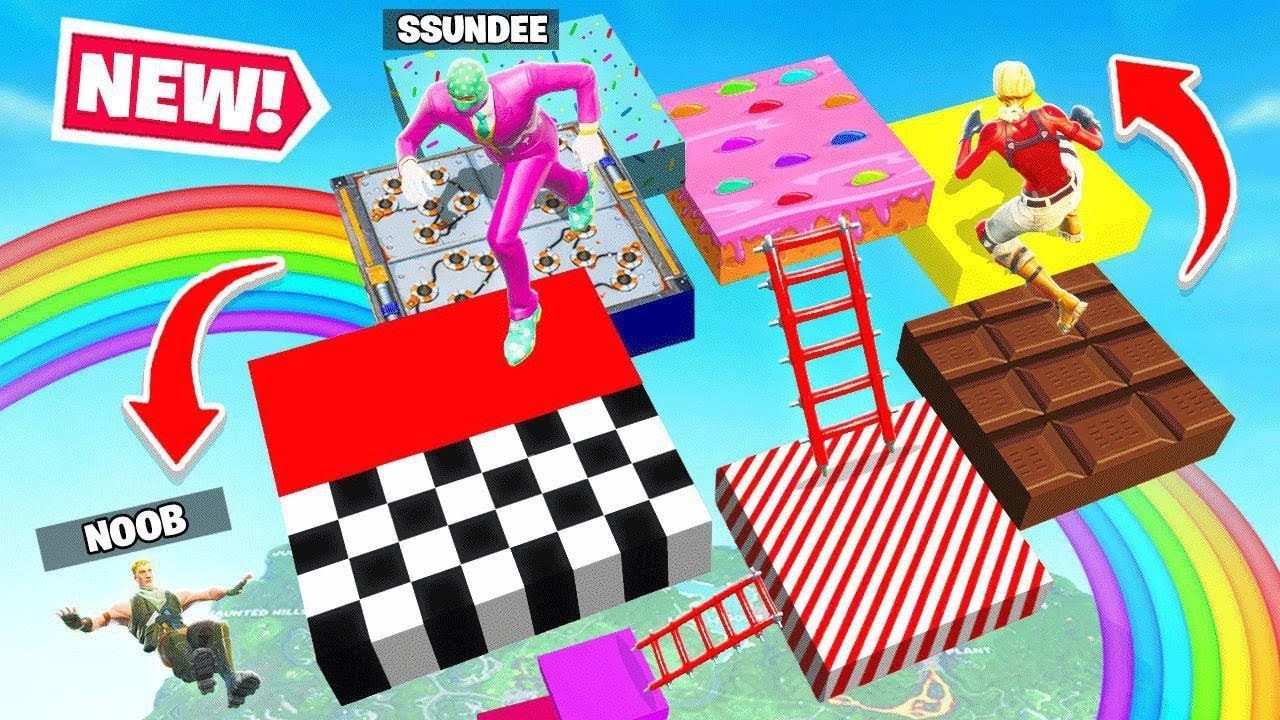 Candy Land Loot Board Game New Game Mode In Fortnite Battle Royale