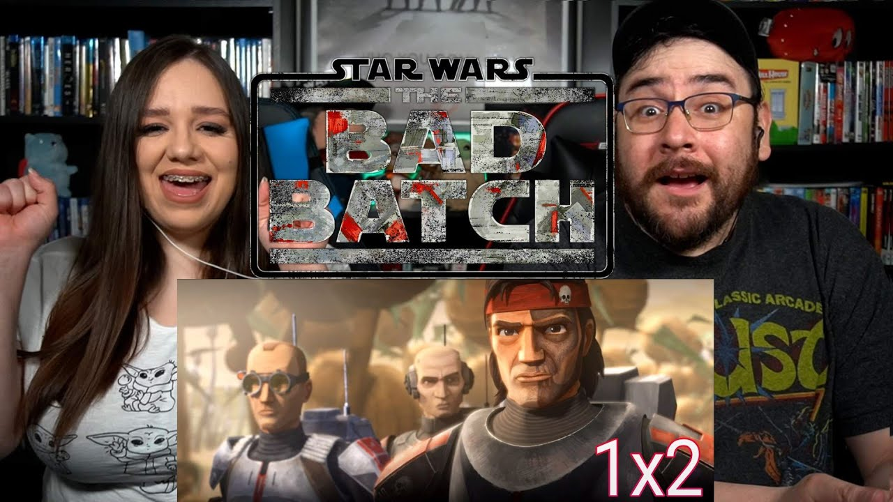 STAR WARS The Bad Batch CUT AND RUN - Episode 2 Reaction / Review