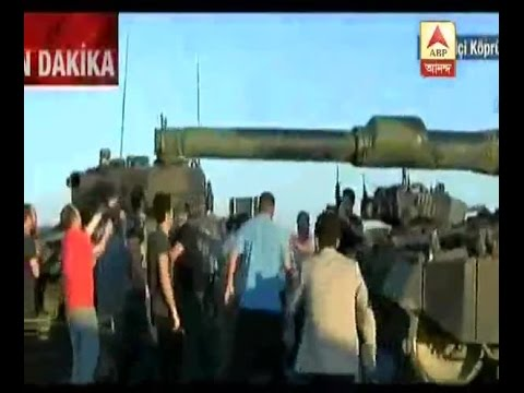 Turkey Military coup: Common men come to the road to protest against agitated army