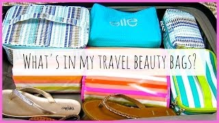What's in my Travel Beauty Bags? ♥ MakeupMAYhem Day 13 Thumbnail