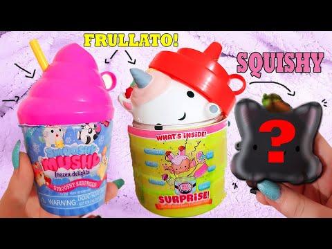 Squishy Mushy Frozen Delights : SQUISHY DENTRO a Dei FRULLATI!? Smooshy Mushy Squishy! + Apriamo Sticky Club - YouTube