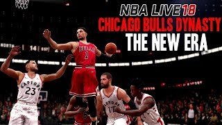 NBA LIVE 18 DYNASTY MODE EPISODE 1 | THE NEW ERA BULLS