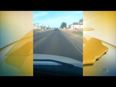 Flagrante de carro desgovernado em BR do Piauí