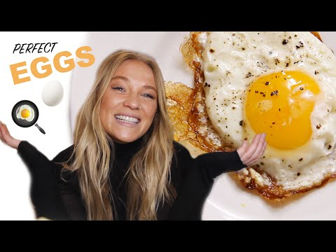 How To Cook Perfect Eggs | At Home with Alix