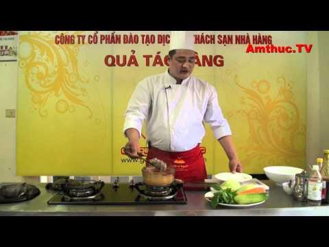 Nộm xoài tôm thịt (Vào bếp cùng Sao - số 51) - tapchiamthuc.vn - amthuc.tv